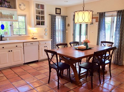 Nantucket Town, Orange Street Nantucket vacation rental - Bright,spacious family kitchen is fully equipped for entertaining