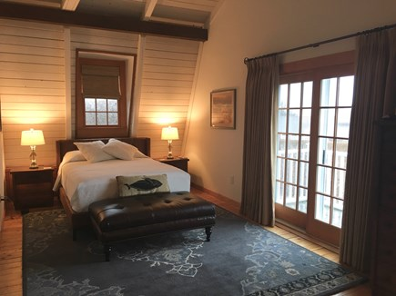 Siasconset Nantucket vacation rental - Master bedroom with private deck
