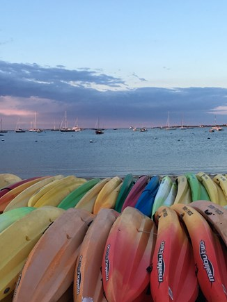 Nantucket town, Nantucket Nantucket vacation rental - Kayaks at Francis Street Beach steps away