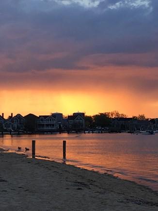 Nantucket town, Nantucket Nantucket vacation rental - Harbor sunset view-Francis Street Beach
