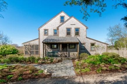 Polpis, Nantucket Nantucket vacation rental - Front of house facing bike path