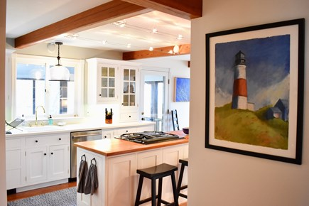 Polpis, Nantucket Nantucket vacation rental - Bright kitchen