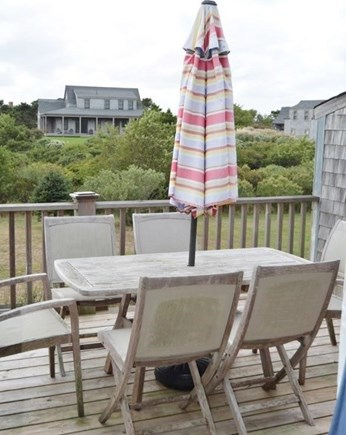 Madaket, Nantucket Nantucket vacation rental - Second floor deck
