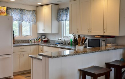 Madaket, Nantucket Nantucket vacation rental - Kitchen with breakfast bar