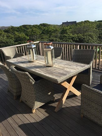 Tom Nevers Nantucket vacation rental - 2nd floor deck and dining