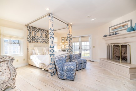 Tom Nevers Nantucket vacation rental - Master Queen Bed with Fireplace