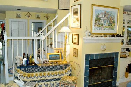 Nantucket town Nantucket vacation rental - Bright interior, tastefully decorated