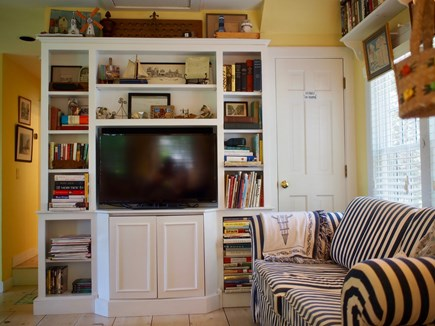Nantucket town Nantucket vacation rental - Loft media center w/LCD TV, & Apple TV, 300 movies, games & toys