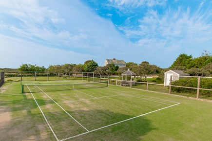 Madequecham Nantucket vacation rental - Private tennis court