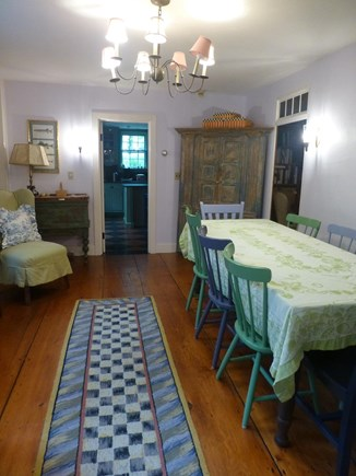 Nantucket town, In Town Nantucket vacation rental - Main house dining room