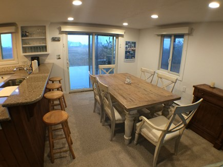 Madaket Nantucket vacation rental - Dining Area