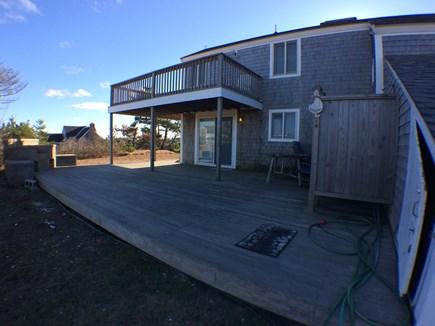 Madaket Nantucket vacation rental - Back Deck