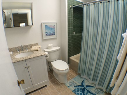 Madaket Nantucket vacation rental - Upstairs Guest Bath