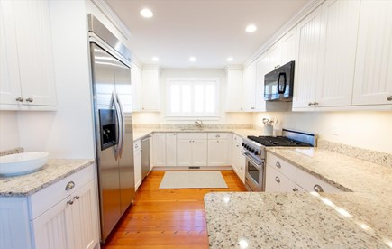 Cisco - Miacomet Nantucket vacation rental - Bright kitchen open to dining and living