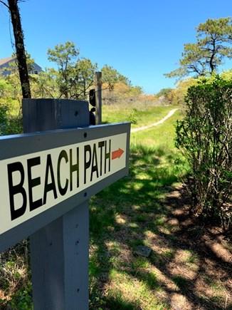 Madaket, Nantucket Nantucket vacation rental - Beach path (12 minute walk) to 40th Pole.