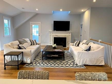 Madaket, Nantucket Nantucket vacation rental - Family room open to kitchen & dining areas, access to powder room