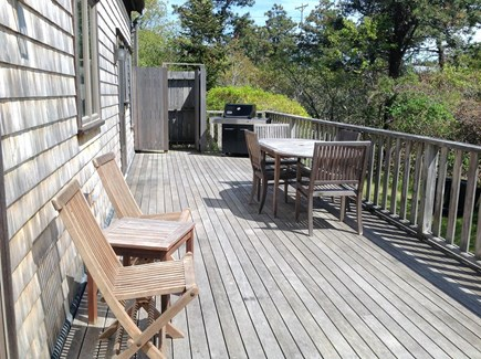 Surfside, Nantucket Nantucket vacation rental - Large deck with outdoor shower