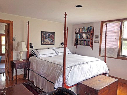 Old Madaket Nantucket vacation rental - Master bedroom, king bed, private bath. Small private study too.