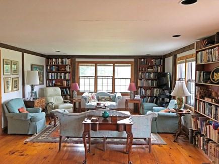 Old Madaket Nantucket vacation rental - Living room.