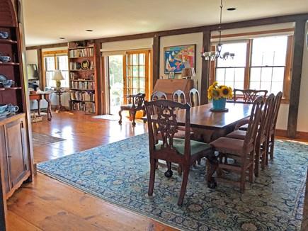 Old Madaket Nantucket vacation rental - Dining room - seats 10.