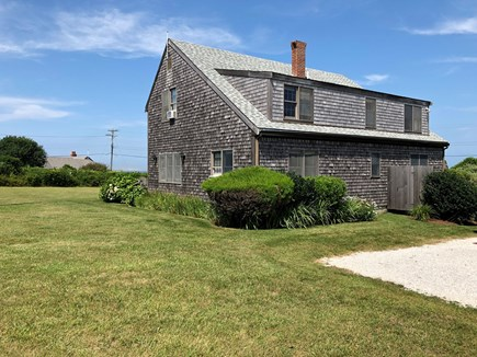 Old Madaket Nantucket vacation rental - View from back.