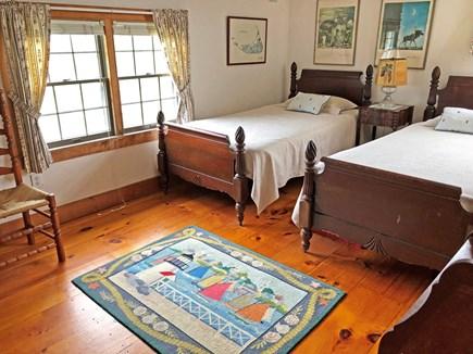 Old Madaket Nantucket vacation rental - Upstairs bedroom, twin beds.