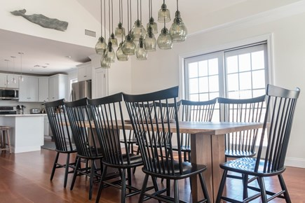 Polpis, Nantucket Nantucket vacation rental - Large dining table adjoining kitchen