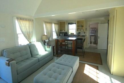Madaket, Nantucket Nantucket vacation rental - Cozy living room and kitchen