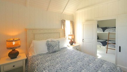 Madaket, Nantucket Nantucket vacation rental - Master with Queen bed, vaulted ceiling, and separate AC