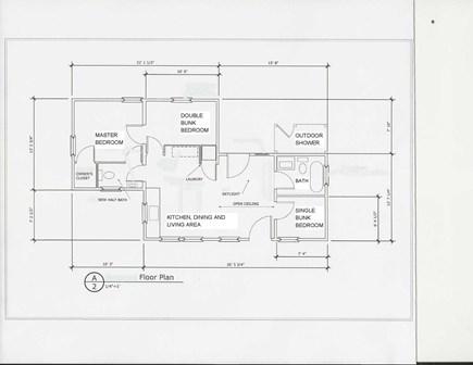 Madaket, Nantucket Nantucket vacation rental - Dimensions and layout of home