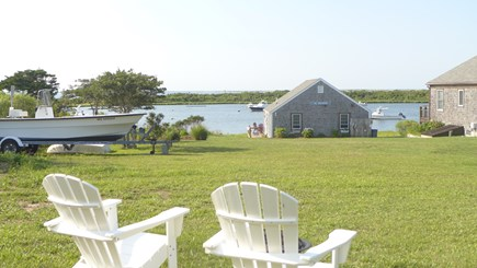 Madaket, Nantucket Nantucket vacation rental - Water view from front lawn