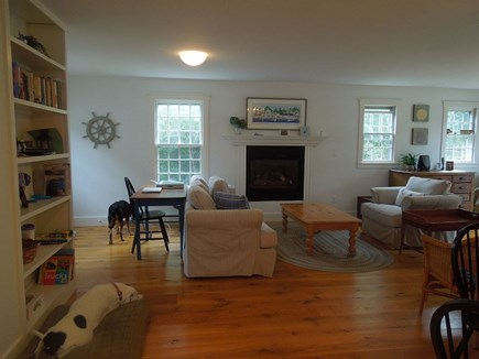 Cisco - Miacomet Nantucket vacation rental - 2 living rooms on the first floor.