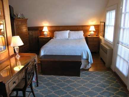 Nantucket town Nantucket vacation rental - Queen BR with access to front balcony with views of Easy St Basin