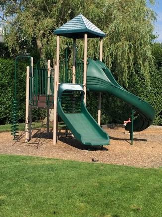 Mid-island, Naushop Nantucket vacation rental - New playground directly across the street