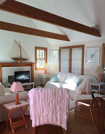 Surfside Nantucket vacation rental - Comfortable living room