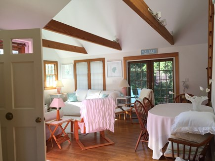 Surfside Nantucket vacation rental - The great room has two sofas and plenty of seating for everyone