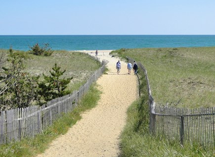 Surfside Nantucket vacation rental - Beautiful Surfside Beach is just 8/10 mile walk or bike away