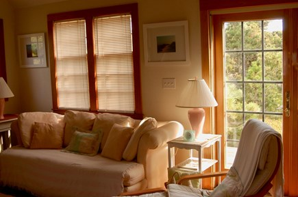 Surfside Nantucket vacation rental - Natural light gives the living room adds to the ambiance
