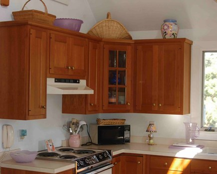 Surfside Nantucket vacation rental - Kitchen includes electric appliances, dishwasher, microwave, etc.