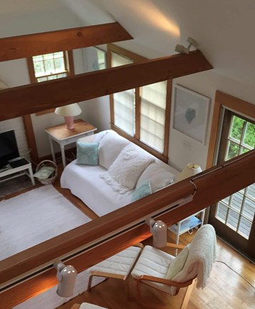 Surfside Nantucket vacation rental - A view from the loft