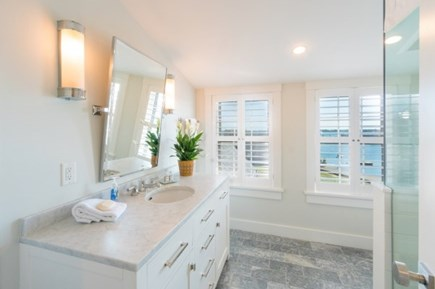 Nantucket town Nantucket vacation rental - Master Bath has a shower with a view....hard to beat.