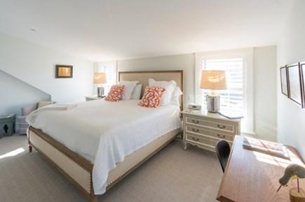 Nantucket town Nantucket vacation rental - Master Bedroom has a desk, 2 dressers and original art work.