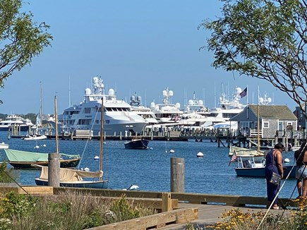 Nantucket town Nantucket vacation rental - Harbor and park view from 28D Easy Street