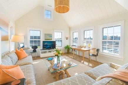 Nantucket town Nantucket vacation rental - Open Living Room w fabulous views of Nantucket harbor.