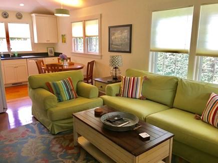 Nantucket town Nantucket vacation rental - Living room in cottage