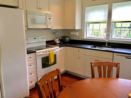Nantucket town Nantucket vacation rental - Kitchen of the cottage with soap stone counters