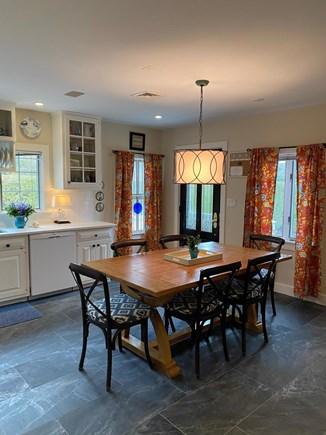 Nantucket town Nantucket vacation rental - Large family kitchen with new floors, counters