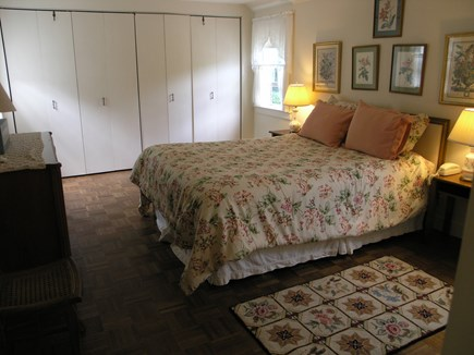 Nantucket town, Nantucket Nantucket vacation rental - Master bedroom, queen size bed, plenty of closet space