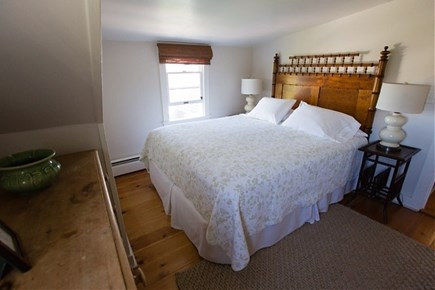 Siasconset, Steps To The Sand Nantucket vacation rental - Upstairs Bedroom With Oversized Queen bed
