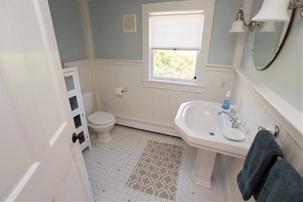 Siasconset, Steps To The Sand Nantucket vacation rental - Downstairs Bathroom with Shower